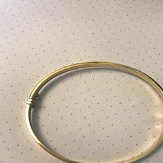 Plain Gold Bracelet Gold Bangle Bracelet Simple Real Gold | Etsy Plain Gold Bangles, Solid Gold Bangle, Engraved Bracelet, Gold Bangle Bracelet, Trendy Bracelets, Love Bracelets, Simple Jewelry, Bracelet Designs, Or Rose