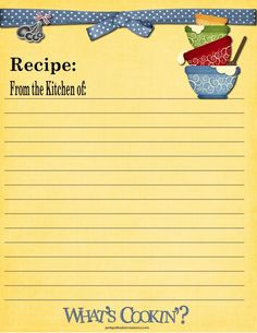 479 best scrapbook free printable recipe cards images on pinterest
