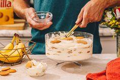 Banana Dessert Recipes, Banana Pudding Recipes, Chocolate Banana Pudding, Pudding Desserts, Jell O, Just Desserts, Delicious Desserts, Yummy Food, Yummy Eats