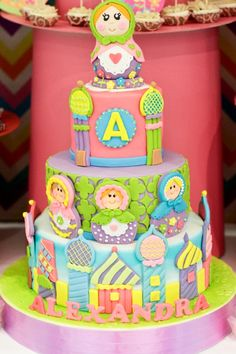 Lexie's Matryoshka Doll Themed Party - Cake