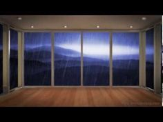 PEACEFUL RAIN 10 HOURS | Great for contemplation, relaxation, focus or sleep - YouTube