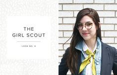 If you like quirky retro styles, consider the Girl Scout neck scarf. To add a little fun to your everyday look, this one is definitely for you.