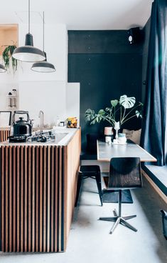 Liene and William's kitchen Hannelore Veelaert for au pays des merveilles woti, carpentry, brutal chic interior