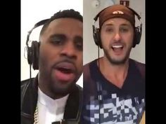 Jason Derulo and Luke Bryan sing Want to Want Me
