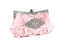 omg this would be the most perfect wedding day clutch :)