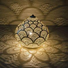 Orientalische+Tischlampe,+ZENZA+von+Dk+-+Lieblingsstücke+auf+DaWanda.com