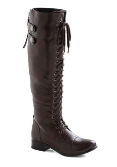 Jill Be Nimble Boot, #ModCloth,  riding boots are my best friend