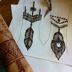 I've been working out new feather designs for the Thursday Night Market, ask Chris for my feather special, we'll hook you up with graceful henna feather armcandy! See you inside the market, downtown Chico, California Broadway Street, between 3rd and 4th, | Flickr - Photo Sharing!