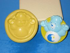 Care Bear Push Mold Flexible Resin Clay Candy by LobsterTailMolds