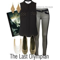 Outfit inspired by The Last Olympian by Rick Riordan (Percy Jackson & the Olympians series)