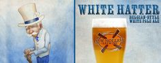 New Brew! White Mad Hatter ~ Belgian Style White Pale Ale