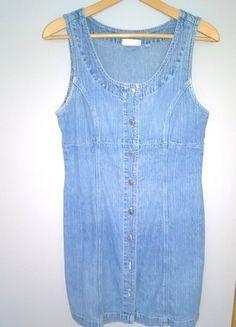 Kup mój przedmiot na #vintedpl http://www.vinted.pl/damska-odziez/krotkie-sukienki/16630309-letnia-sukienka-jeans-rozpinana-z-przodu-36-38-40-bez-rekawow