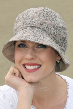hats for women with cancer | Hats for Cancer Patients: Reversible Reese Hat