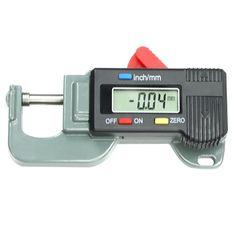 Promo ELBA Portable Precise Digital Thickness Gauge Meter Metal Tester Micrometer 0 to 12.7mm #ELBA #Portable #Precise #Digital #Thickness #Gauge #Meter #Metal #Tester #Micrometer #12.7mm