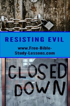 Jesus said not resist evil. What did He mean by that? Are we to allow evil to triumph unopposed? #Jesus #evil #resistingevil #lockdown Bible Study Lessons, Free Bible Study, Evil Person, Bible Commentary, Words Of Jesus, Evil People, Bible Stories, Jesus Quotes, S Word