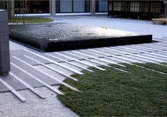 water metal concrete turf