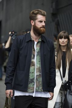 Street looks from Menswear Fashion Week Spring/Summer 2016 London | Vogue Paris