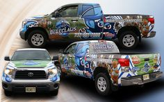 Full Truck Wrap for the fine folks at Lakewood Blue Claws, produced by Airgraphix Inc. in Ocean County New Jersey