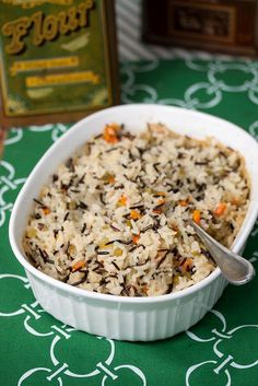 how to make brown rice pilaf & how to make rice pilaf ; how to make rice pilaf simple ; how to make rice pilaf recipe ; how do you make rice pilaf ; how to make wild rice pilaf ; how to make brown rice pilaf Wild Rice Recipes, Wild Rice Recipe Easy, Healthy Rice Recipes, Wild Rice Pilaf, Brown Rice Pilaf, Rice Pilaf Recipe, Rice Side Dishes, Spanish Rice, Mexican Spanish