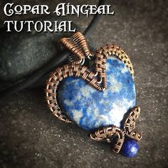 TUTORIAL  Bottled Heart Pendant  Wire Wrapping  Jewelry