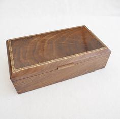 Jewellery Box - Solid Walnut £160.00   #CRAFTfest            Norfolkwoodcrafts on Folksy