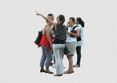 Gobotree. photoshop people cutouts