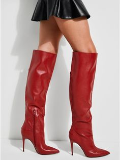 Orianna Pointed Over-The-Knee Boots