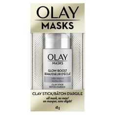 Face Masks by Olay, Clay Facial Mask Stick With Pink Mineral Complex, Fresh Reset, Glow Boost White Charcoal and Pore Detox Black Charcoal, Oz Black Charcoal Mask, Multi Masking, Clay Face Mask, Clay Faces, Cleansing Mask, Pores, Moisturizer With Spf, Natural Glow, Olay