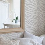 This wall design is made with a stenscil
