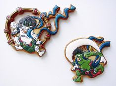 Fujin & Raijin Cookies