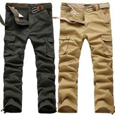 Glorious Hot Men Slim Fit Trousers Casual Pencil Jogger Cargo Pants Men Urban Straight Leg Long Pencil Pants Pants Zip Pocket Trousers Soft And Antislippery Skinny Pants Pants