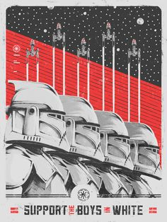 Star Wars Propaganda - Created by Marie Bergeron