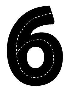 Verkeerscijfer 6
