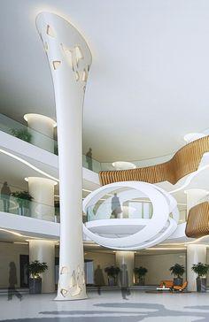 Atrium design at wangsa maju.  K.lumpur
