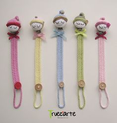 These are absolutely adorable Crochet Baby Toys, Cute Crochet, Crochet For Kids, Crochet Gifts, Baby Knitting, Knit Crochet, Amigurumi Doll, Amigurumi Patterns, Crochet Patterns