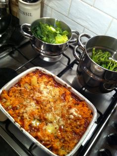 Cottage pie with sweet potato rosti topping - Lorraine Pascale recipe