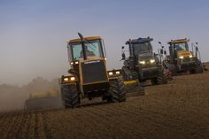 #Caterpillar invented the rubber-tracked tractor: Challenger has perfected it.