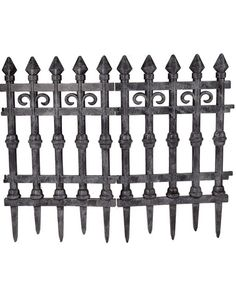 2 Piece Faux Cemetery Fence