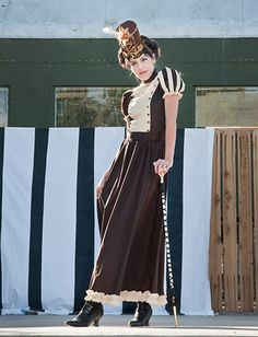 Long Steampunk Majorette Dress   http://www.retroscopefashions.com/images/ladies/DR00139L.jpg