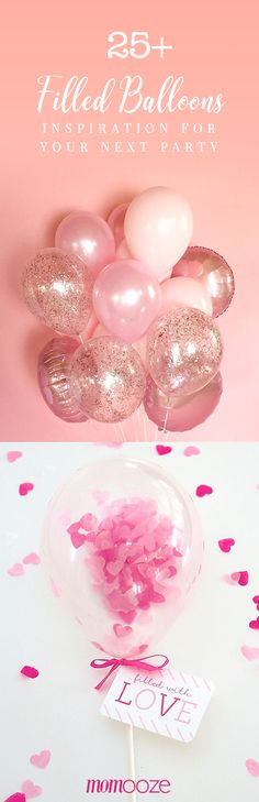 25+ Filled Balloons – Inspiration for your Next Party