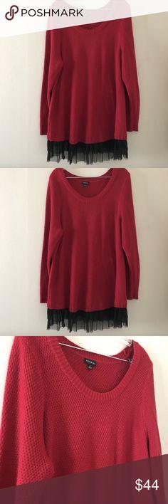 8dd2923fd9c32 Torrid 2 Sweater Womens Plus Size. Black ...