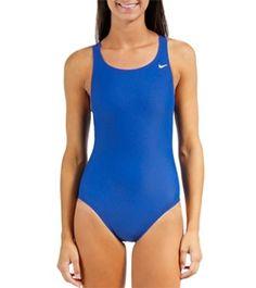 22ba98c7a20 Nike Swim Nylon Core Solids Fast Back Tank Swimsuit at SwimOutlet.com - Free  Shipping