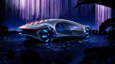 Mercedes-Benz X Avatar Concept Car Announced With Special Spherical Tires