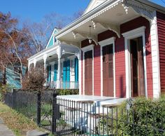 New Orleans Shotgun Houses: I want to own one of these as a vacation home when I no longer live in the city