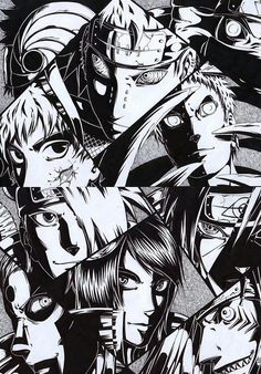 THE AKATSUKI by shichinin-tai