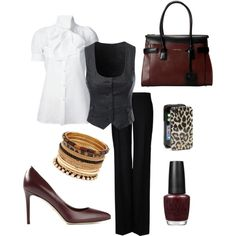 Young Professor - business work outfit