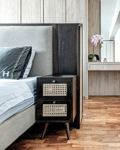 House Tour: Eclectic touches add warmth to the clean-lined design of this 4-room HDB flat Living Room Images, Bedroom Images, Kitchen Backsplash Images, Stylish Bedroom, Lanterns Decor, Upholstered Sofa, Dining Table In Kitchen, Minimalist Interior, Open Plan Living