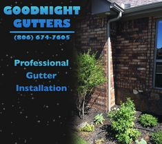 Fast and reliable installation! Contact Goodnight Gutters today for more details.
