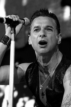Dave Gahan - one of my fave voices.  Ever.