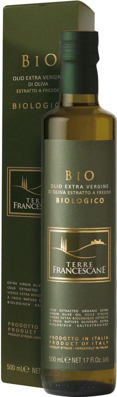 #TerreFrancescane BIO Italian organic extra virgin olive oil by #CUFROL